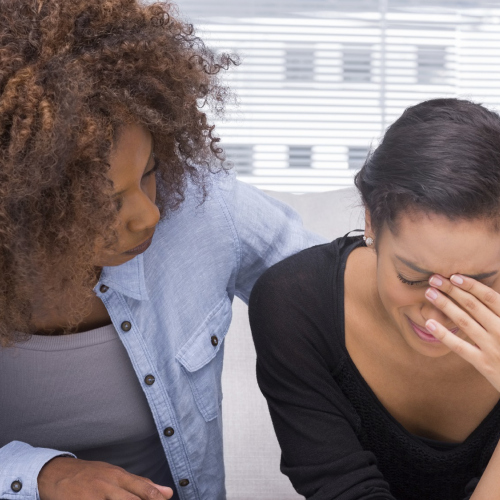 Lesbian couple attending couples therapy, relationship counselling